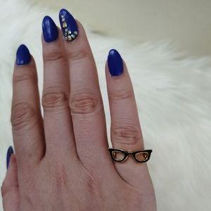 Kate Spade Goreski Glasses Ring size 5